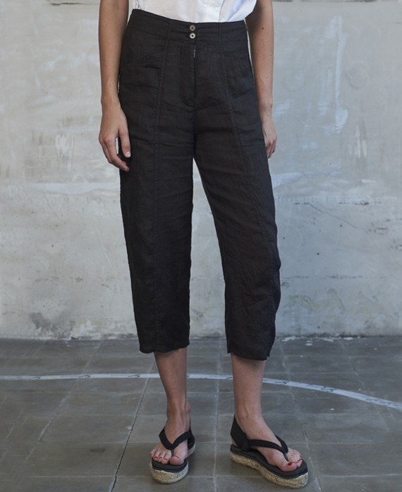 Pantaló de lli negre