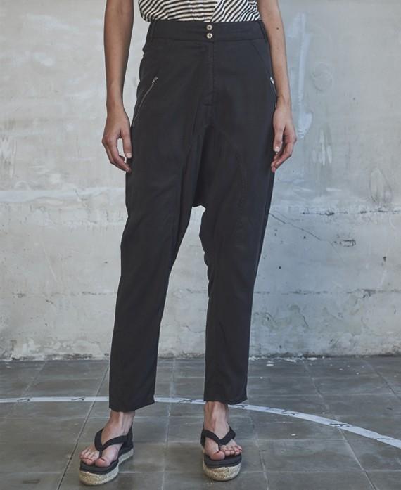 Pantaló cagat costures negre