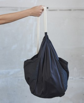 Silk bag black