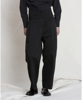 Wide leg trousers black