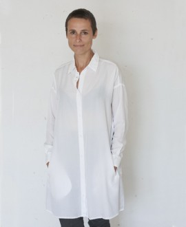 Shirtdress white