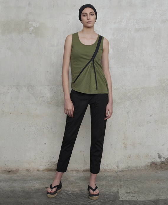 Ankle-lenght skinny trousers
