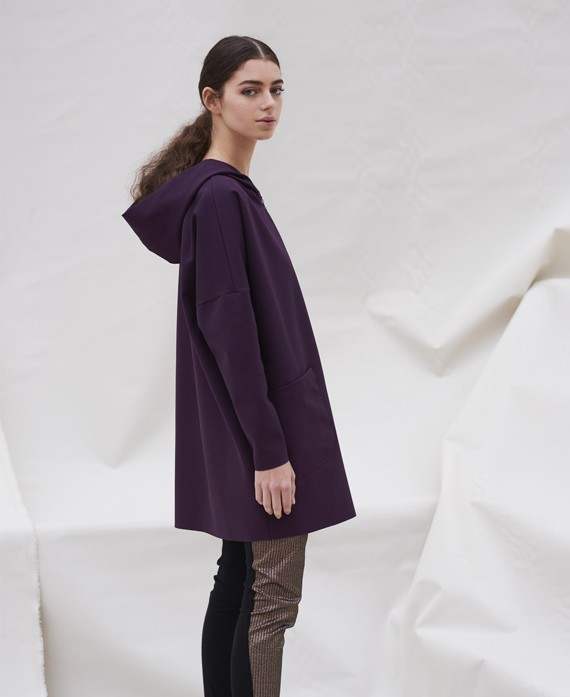Oversize jacket with maxi pockets