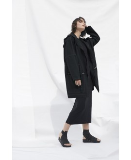 RECYCLED PARKA BLACK