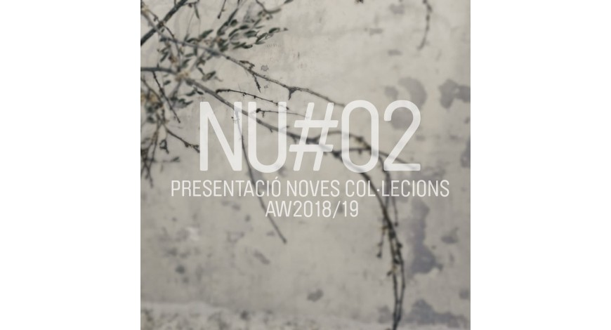 Thursday the 25th presentation of AW-18-19 collection at NU#02
